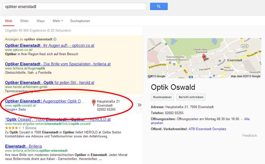 Optiker Eisenstadt Oswald