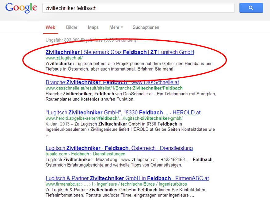 Ziviltechniker Feldbach Lugitsch